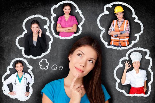 О чем мечтают современные девушки при выборе профессии