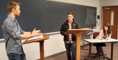 Дебаты как одно из средств развития студенческого потенциала