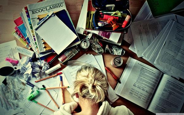 Стресс и экзамены