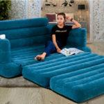 Как отремонтировать надувной диван самостоятельно